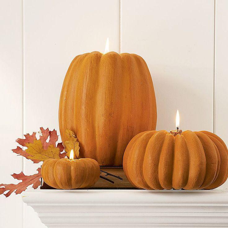 pumpkin candels