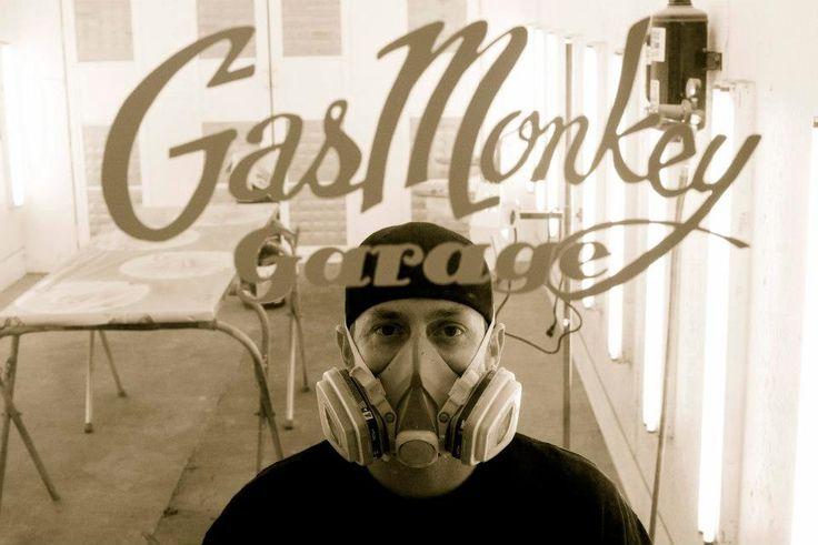 Gas monkey garage via kc 39 s paint shop gas monkey garage for Kc paint shop