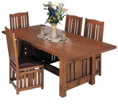 Stickley-Inspired Dining Table Plan. Woodworkersjournal.com