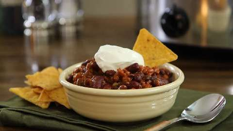 Laura's Quick Slow Cooker Turkey Chili Allrecipes.com