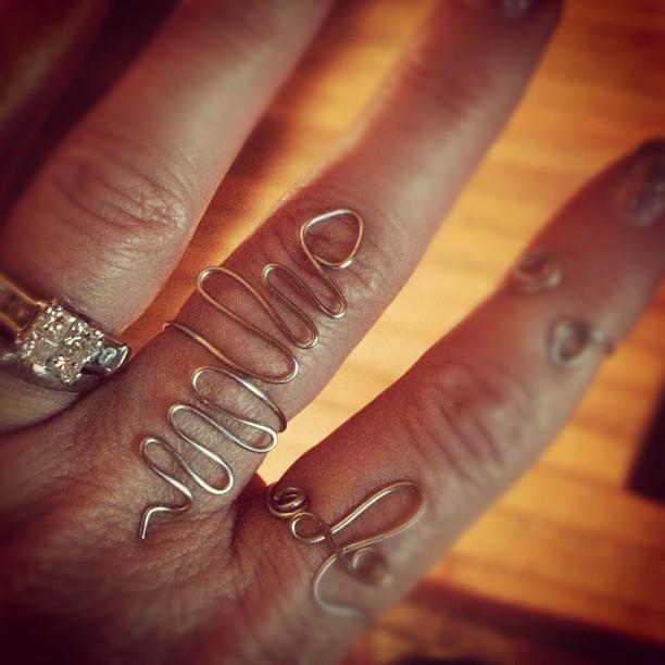 DIY Snake Ring :)