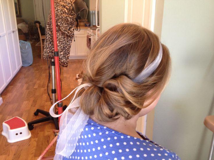 Wedding hair trial! | WEDDING IDEAS | Pinterest
