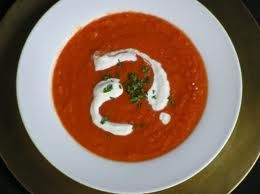 Mexican Pumpkin & Tomato Soup | Home Baking | Pinterest