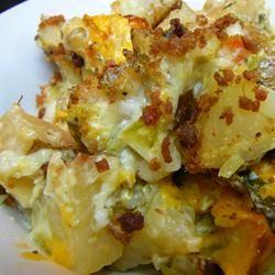 Pat's Baked Potato Salad Allrecipes.com - Photo by Molly