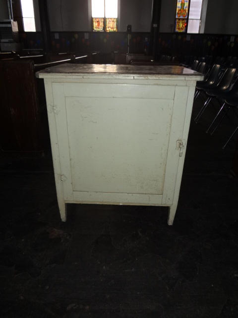 kitchen cabinet / pantry can serve graciously as a microwave stand ...