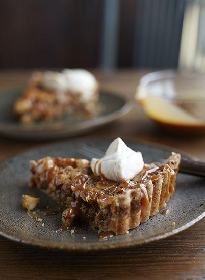 Macadamia Nut Tart | Thanksgiving | Pinterest