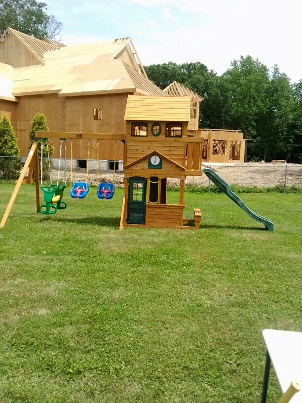 big backyard ashberry playset from toys r us installed in ocean twp