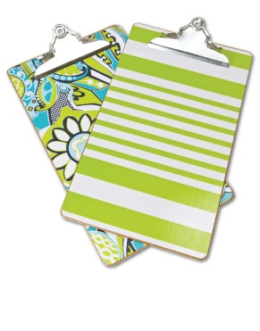 Personalized clipboards with a ton of patterns to choose from!
