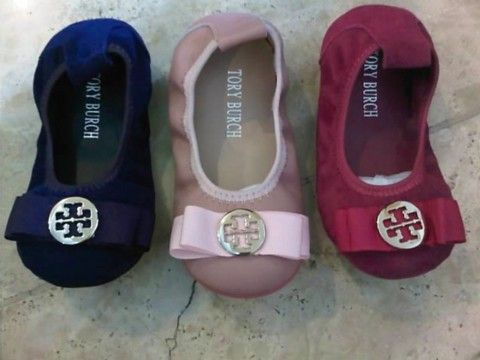 Tory Burch Baby Flats. So Cute!!!