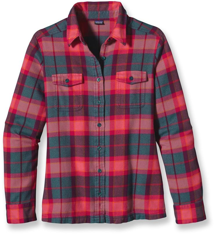 Patagonia fjord flannel shirt women 39 s for Ladies soft flannel shirts