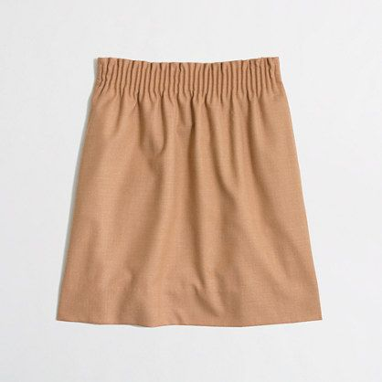 J.Crew Factory - Factory pleated mini