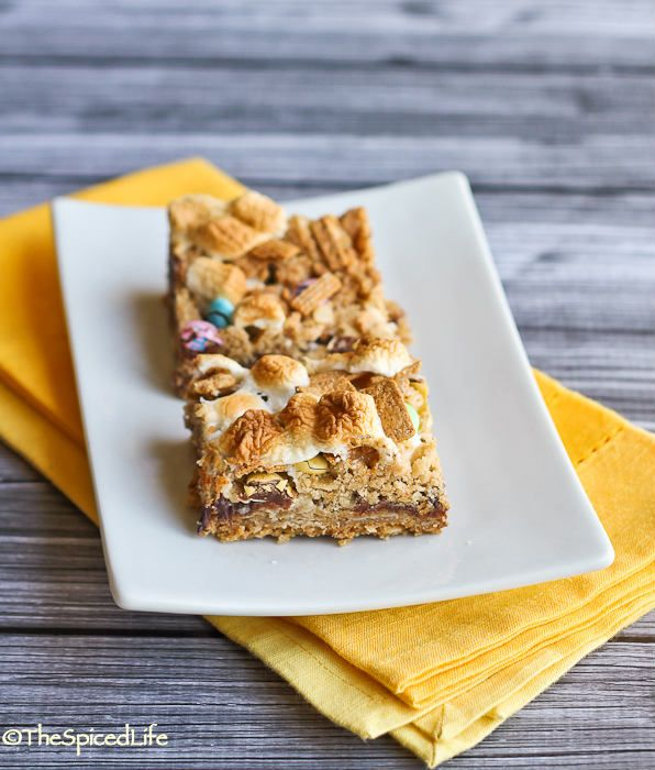 Cereal S'more Bars Recipe — Dishmaps