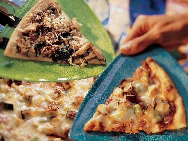 Wild Mushroom Pizza...I LOVE mushrooms!