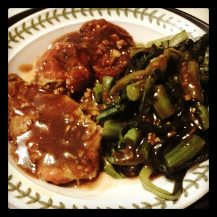 "Pork Chops Vermont! ""I use rosemary instead of basil.. I let it bake ..."