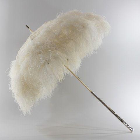 Haute couture bridal parasols