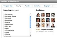 LinkedIn launches targeted marketing features