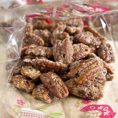 Candied Spiced Pecans recipe - Foodista.com