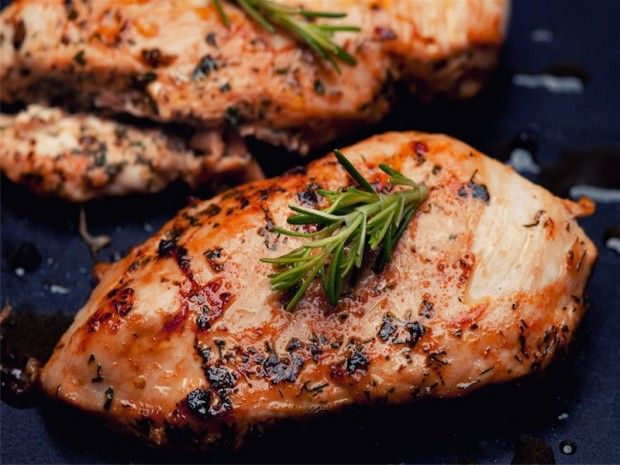 Dukan Diet Rosemary Grilled Chicken - perfect for all phases