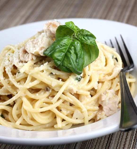 spaghetti with lemon and olive oil
