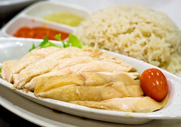 Singapore's Hainanese Chicken Rice | Live To Eat | Pinterest