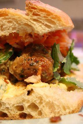 Pork Meatball Banh Mi | Recipes | Pinterest