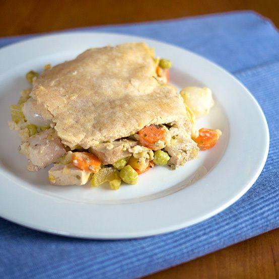 Vegetable Pot Pie - Vegan Recipe   Eat to Live RECIPES   Pinterest