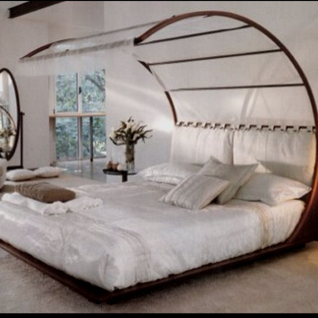 Tropical Canopy Bed For The Home Pinterest