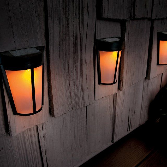 solar deck lights gadgets pinterest