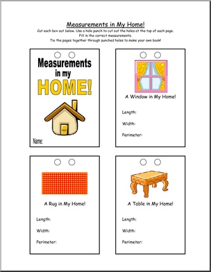 Measurement worksheets abound!