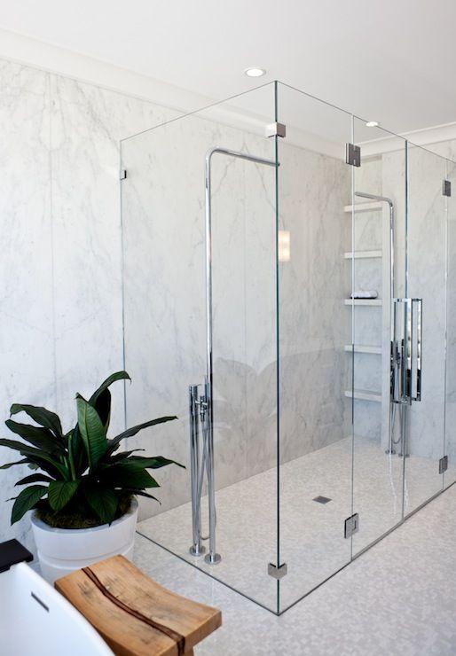 Amazing Walk In Shower Home Decor Bathrooms Pinterest