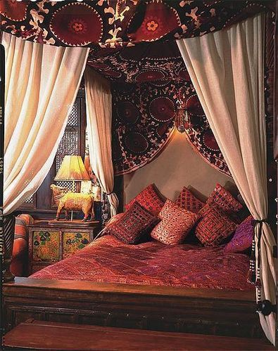 Suzani Canopy For The Home Pinterest