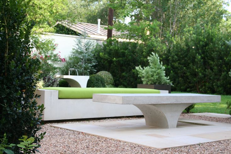 Cool Concrete Outdoor Furniture Rethink Concrete Pinterest