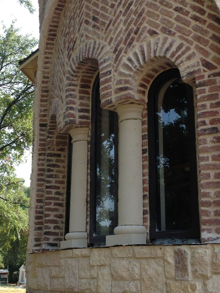 Brick and Stone Exterior binations