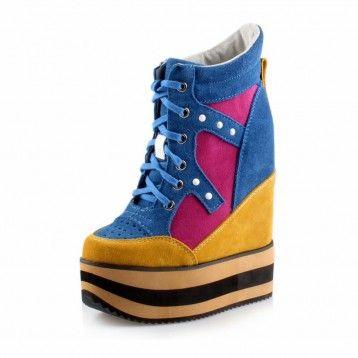 Custom ultrahigh elevator shoes for women make you taller 17cm / 6