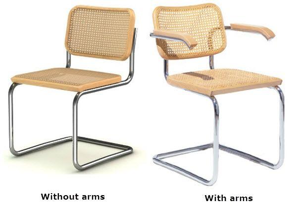 Marcel breuer chair - B32 Cesca Marcel Breuer 1928 Berlin Chairs Evolution