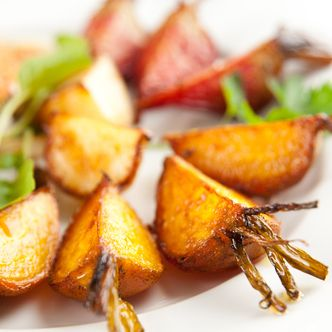 Salt Roasted Golden Beets with Anise Seeds - SippitySup
