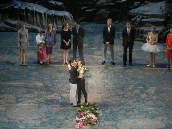 Angel Corella's final Swan Lake at American Ballet Theatre, Angel with Marcelo Gomes http://www.examiner.com/article/changing-of-the-guard-at-american-ballet-theatre
