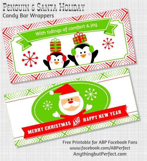Candy bar wrappers christmas pinterest for Candy bar wrapper ideas