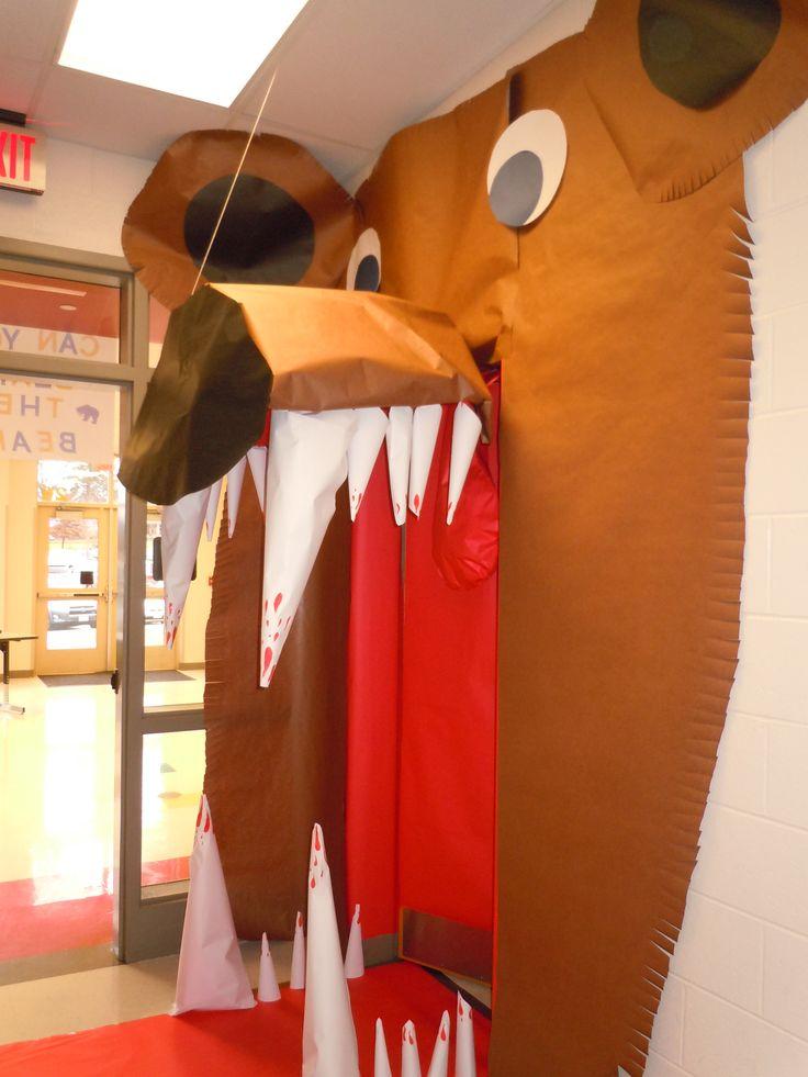 bad bear school hallway ideas pinterest