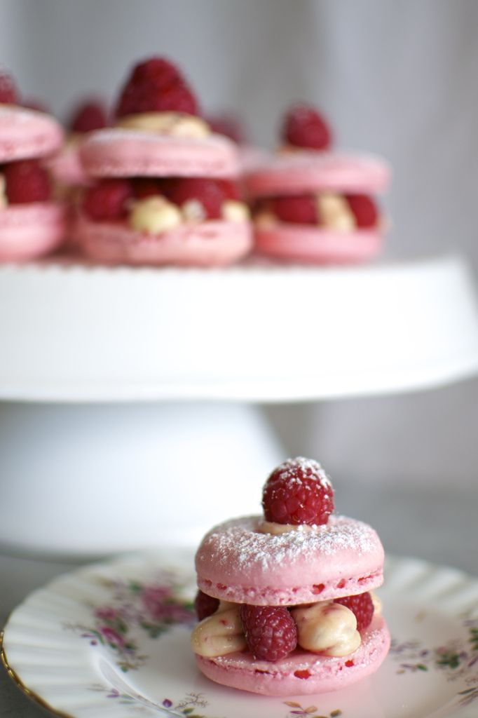 Rose, Raspberry and Pink Peppercorn Macaron Sandwiches | www ...