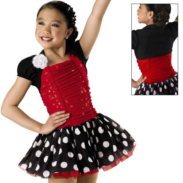 Mambo Dance Costumes Girl