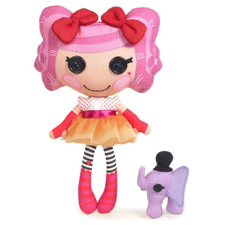Lalaloopsy мягкие куклы - Арахис Big Top