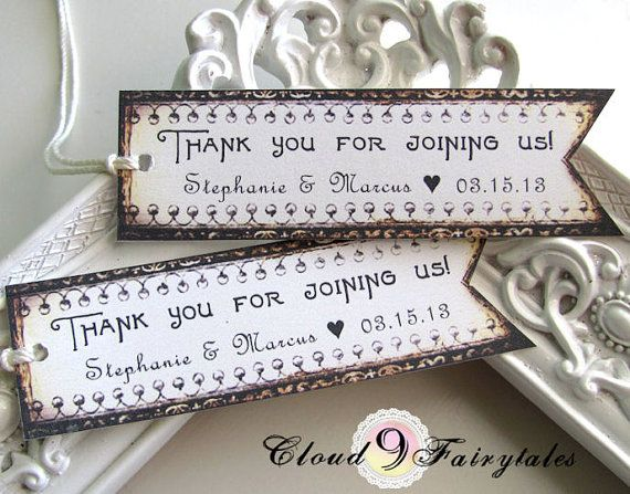 Thank You Quotes Wedding Favors | 7 Quote