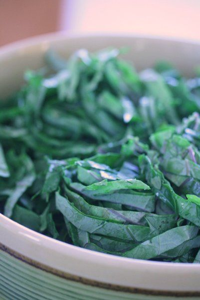 Kale Salad with Bagna Cauda Vinaigrette | A Kale Tale | Pinterest