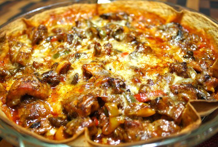 Chicken Quesadilla Pie | Food | Pinterest