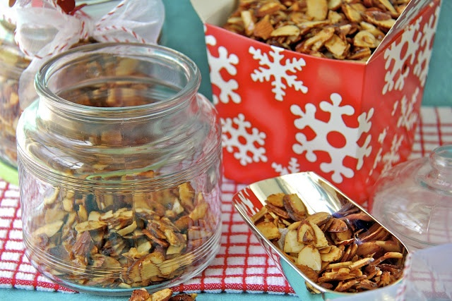 Candied and spiced almonds | Food glorious food - savoury | Pinterest