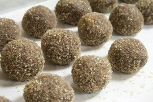 Bourbon Nutella Balls (roll in coating of your choice: raw sugar ...