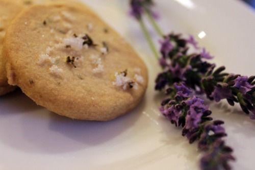 Lavender shortbread cookies | Cookies | Pinterest
