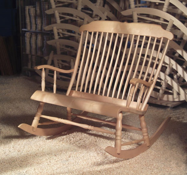 ... only got one. Double wide rocking chair seems much more likely though