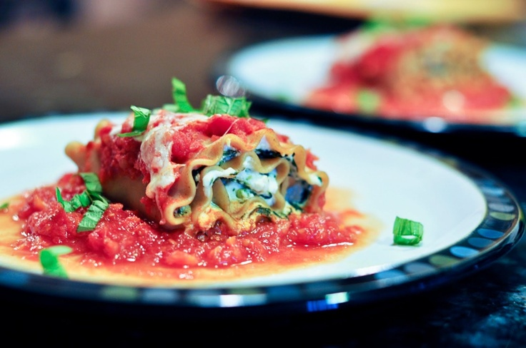 Spinach Lasagna Rolls | To do YUMMY food list | Pinterest